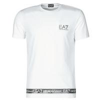 vaatteet Miehet Lyhythihainen t-paita Emporio Armani EA7 3KPT05-PJ03Z-1100 Valkoinen
