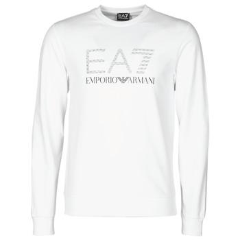 vaatteet Miehet Svetari Emporio Armani EA7 3KPMD7-PJ2SZ-1100 White