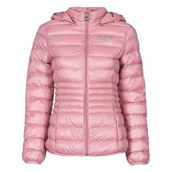 vaatteet Naiset Toppatakki Emporio Armani EA7 8NTB23-TN12Z-1436 Vaaleanpunainen