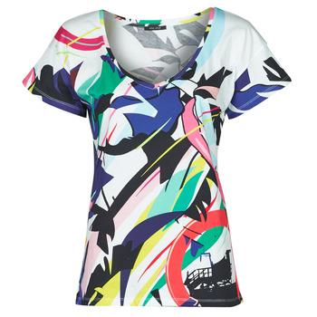 vaatteet Naiset Lyhythihainen t-paita One Step MONA Monivärinen