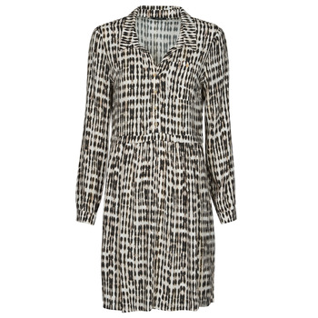 vaatteet Naiset Lyhyt mekko One Step RANDA Beige / Musta