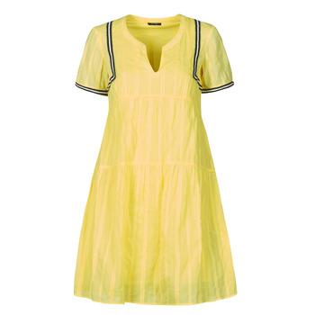 vaatteet Naiset Lyhyt mekko One Step ROYA Keltainen