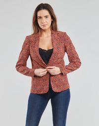 vaatteet Naiset Takit / Bleiserit One Step VINNY Punainen / Monivärinen