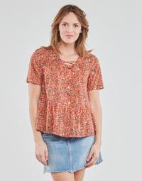 vaatteet Naiset Topit / Puserot One Step CARA Punainen / Monivärinen