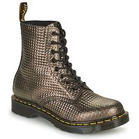 kengät Naiset Bootsit Dr Martens 1460 PASCAL Taupe / Kulta