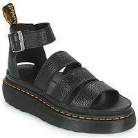 kengät Naiset Sandaalit ja avokkaat Dr Martens CLARISSA II QUAD Musta