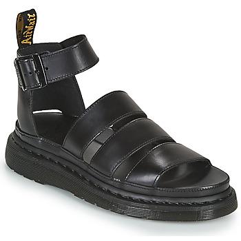 kengät Naiset Sandaalit ja avokkaat Dr Martens CLARISSA II Musta