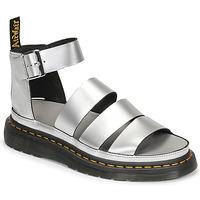 kengät Naiset Sandaalit ja avokkaat Dr Martens CLARISSA II Hopea