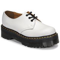 kengät Naiset Derby-kengät Dr Martens 1461 QUAD Valkoinen