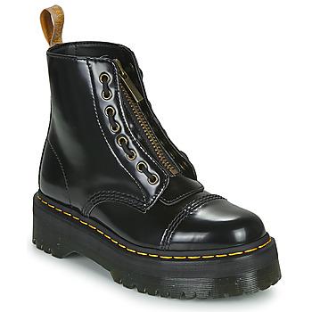 kengät Naiset Bootsit Dr Martens VEGAN SINCLAIR Musta