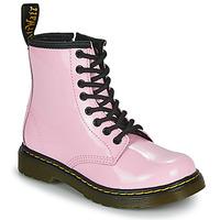 kengät Tytöt Bootsit Dr Martens 1460 J Vaaleanpunainen