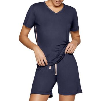 vaatteet Naiset pyjamat / yöpaidat Impetus Travel Woman 8400F84 F86 Sininen