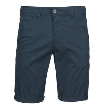 vaatteet Miehet Shortsit / Bermuda-shortsit Teddy Smith SHORT CHINO Laivastonsininen