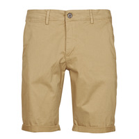 vaatteet Miehet Shortsit / Bermuda-shortsit Teddy Smith SHORT CHINO Beige