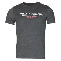 vaatteet Miehet Lyhythihainen t-paita Teddy Smith TICLASS Harmaa / Tumma