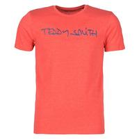 vaatteet Miehet Lyhythihainen t-paita Teddy Smith TICLASS Punainen
