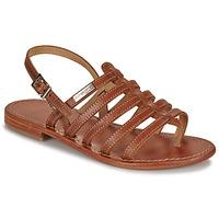 kengät Naiset Sandaalit ja avokkaat Les Tropéziennes par M Belarbi HERISSON Ruskea