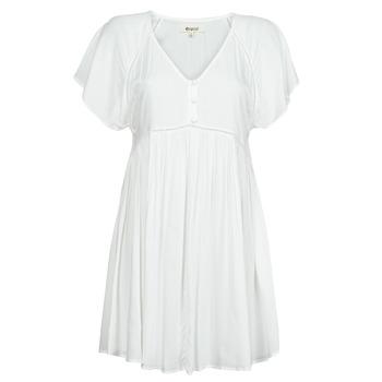 vaatteet Naiset Lyhyt mekko Rip Curl IN YOUR DREAMS DRESS Valkoinen