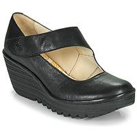 kengät Naiset Korkokengät Fly London YASI Musta