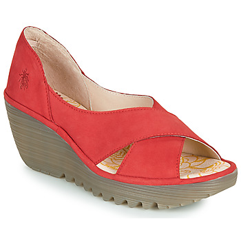 kengät Naiset Sandaalit ja avokkaat Fly London YOMA Punainen