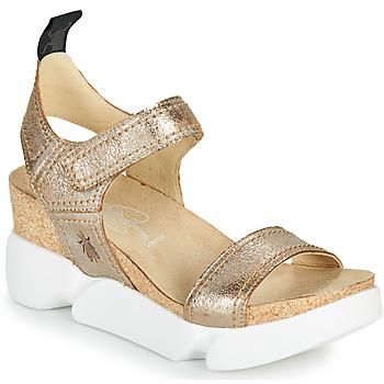 kengät Naiset Sandaalit ja avokkaat Fly London SENA Kulta