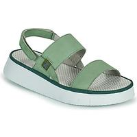 kengät Naiset Sandaalit ja avokkaat Fly London CURA Vihreä