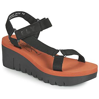 kengät Naiset Sandaalit ja avokkaat Fly London YEFA Musta