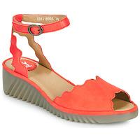 kengät Naiset Sandaalit ja avokkaat Fly London LUME Punainen