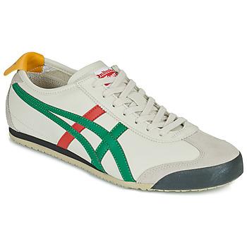 kengät Matalavartiset tennarit Onitsuka Tiger MEXICO 66 Valkoinen / Vihreä / Punainen