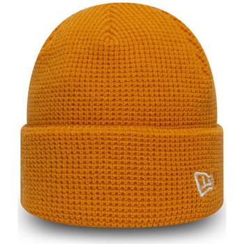 Asusteet / tarvikkeet Miehet Pipot New-Era Ne short knit Oranssi