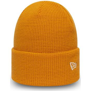 Asusteet / tarvikkeet Miehet Pipot New-Era Ne colour waffle knit Oranssi