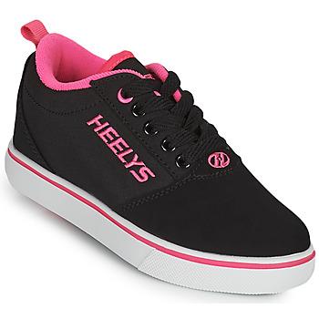 kengät Tytöt Rullakengät Heelys PRO 20'S Musta / Vaaleanpunainen