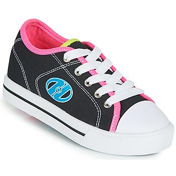 kengät Tytöt Rullakengät Heelys CLASSIC X2 Musta / Vaaleanpunainen / Sininen