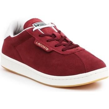 kengät Naiset Matalavartiset tennarit Lacoste Masters 319 1 SFA 7-38SFA00032P8 burgundy