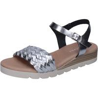kengät Naiset Sandaalit ja avokkaat Rizzoli BK606 Hopea