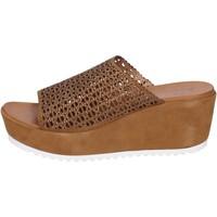 kengät Naiset Sandaalit ja avokkaat Femme Plus BK620 Ruskea