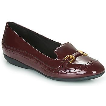 kengät Naiset Balleriinat Geox D ANNYTAH Bordeaux