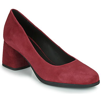 kengät Naiset Korkokengät Geox D CALINDA MID Bordeaux