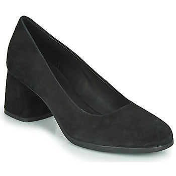 kengät Naiset Korkokengät Geox D CALINDA MID Black