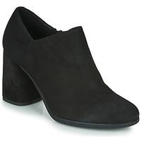 kengät Naiset Korkokengät Geox D CALINDA HIGH Black
