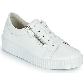 kengät Naiset Matalavartiset tennarit Gabor 6333421 Valkoinen