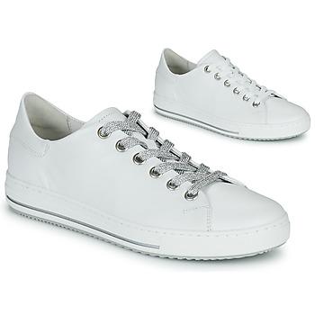 kengät Naiset Matalavartiset tennarit Gabor 6651550 Valkoinen