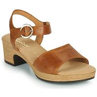 kengät Naiset Sandaalit ja avokkaat Gabor 6272153 Kamelinruskea