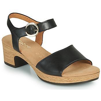kengät Naiset Sandaalit ja avokkaat Gabor 6272157 Musta