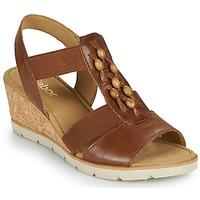 kengät Naiset Sandaalit ja avokkaat Gabor 6575024 Ruskea