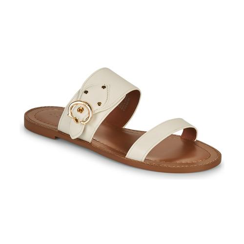 kengät Naiset Sandaalit Coach HARLOW Ivory