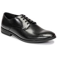 kengät Miehet Derby-kengät Clarks STANFORD WALK Musta