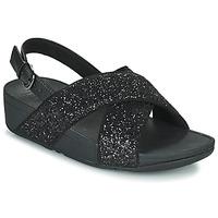kengät Naiset Sandaalit ja avokkaat FitFlop LULU Musta