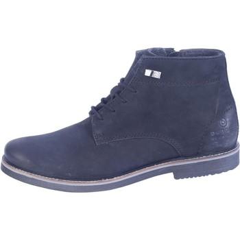 kengät Miehet Bootsit Bugatti Vando Musta