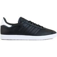 kengät Miehet Matalavartiset tennarit adidas Originals Gazelle Mustat